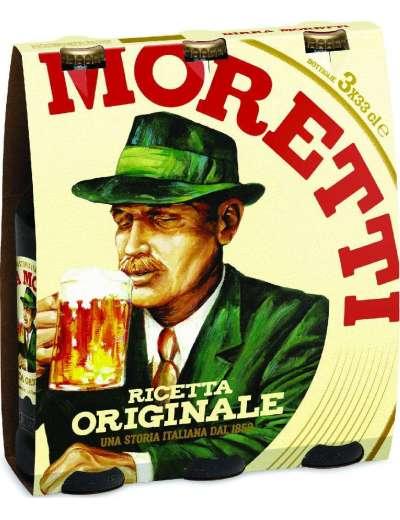 MORETTI BIRRA 3X33 CL