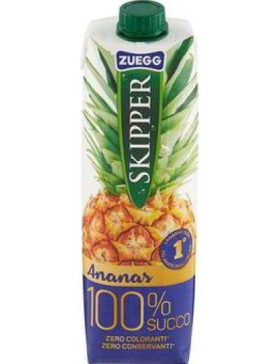 SKIPPER 100% ANANAS SUCCO BRIK LT 1