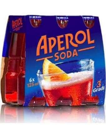 APEROL SODA BT 6X12