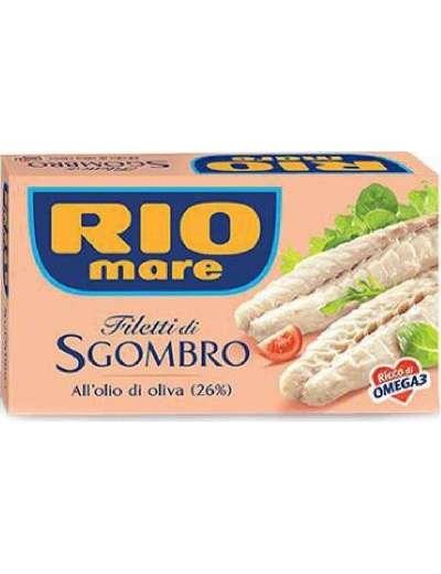 RIO MARE SGOMBRO ALL'OLIO D'OLIVA GR 125