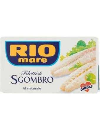 RIO MARE SGOMBRO AL NATURALE GR 125