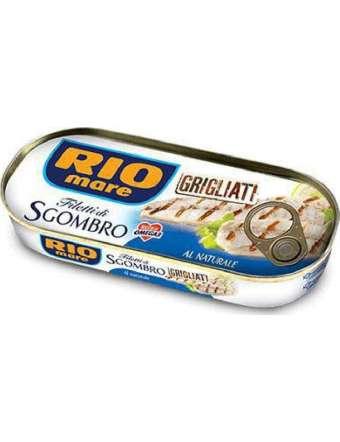 RIO MARE SGOMBRO NATURALE GRIGLIATO GR 120
