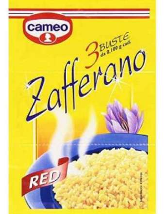 CAMEO ZAFFERANO X3 BUSTINE GR 10