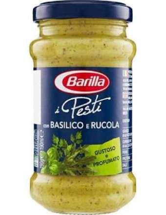 BARILLA PESTO RUCOLA BASILICO VETRO GR 190