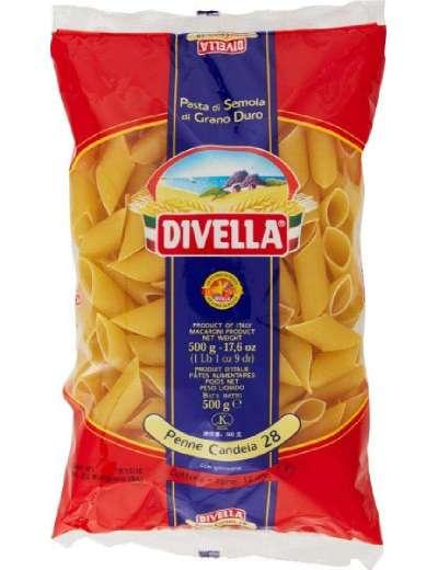 DIVELLA N 28 PENNE CANDELA GR 500