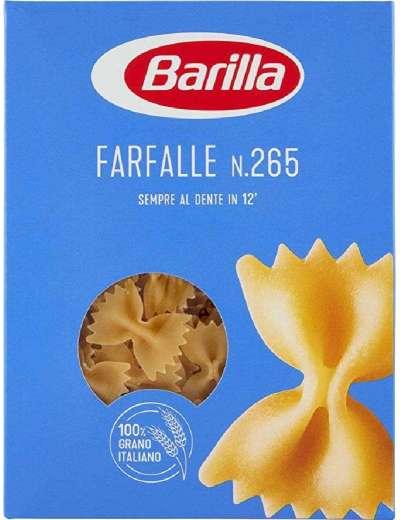 BARILLA N265 FARFALLE GR 500