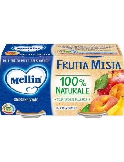 MELLIN OMOGENEIZZATO FRUTTA MISTA 2X100 GR