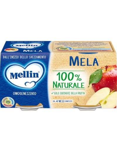 MELLIN OMOGENEIZZATO MELA 2X100 GR