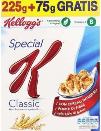 SPECIAL K CEREALI CLASSICI KELLOGG GR 300