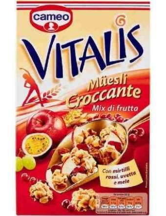 CAMEO VITALIS FRUTTA MISTA GR 300