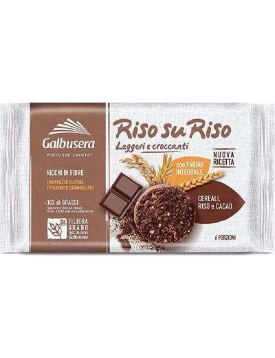 GALBUSERA RISO SU RISO CIOCCOLATA CEREALI GR 220