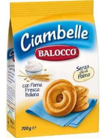 BALOCCO CIAMBELLE BISCOTTI GR 700