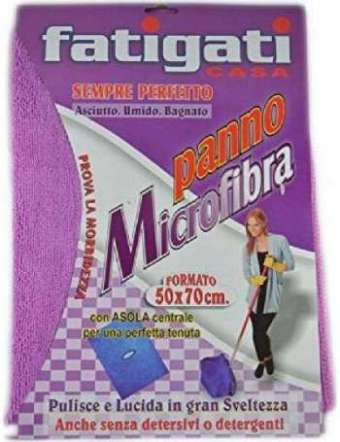 FATIGATI PANNO 50X70 MICROFIBRA 350GR