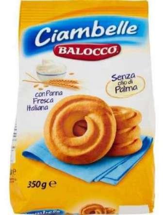 BALOCCO CIAMBELLE BISCOTTI GR 350