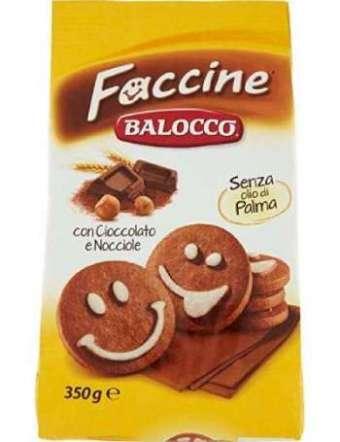 BALOCCO FACCINE BISCOTTI GR 350