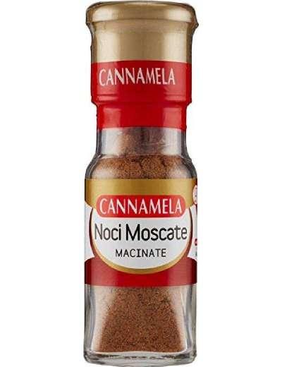 CANNAMELA NOCI MOSCATE MACINATE GR 25