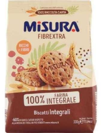 MISURA BISCOTTI FIBRE INTEGRALI GR 330