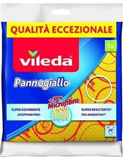 VILEDA PANNO GIALLO MULTIUSO PZ 3