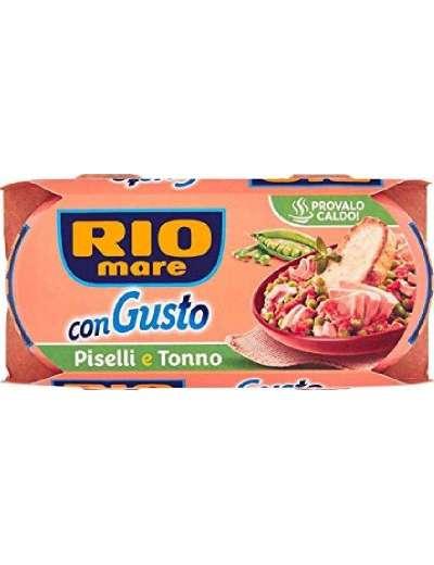 RIO MARE CONGUSTO TONNO E PISELLI 2X160 GR 320