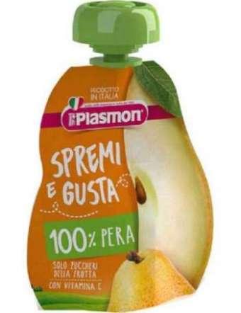 PLASMON SUCCO PERA SPREMI E GUSTA 100 GR