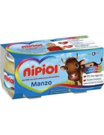 NIPIOL OMOGENEIZZATO MANZO 2X80 GR