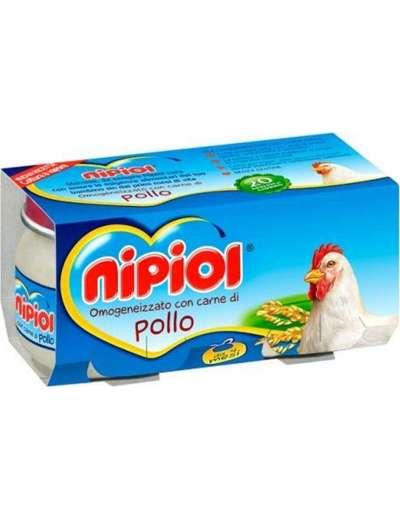 NIPIOL OMOGENEIZZATO POLLO 2X80 GR