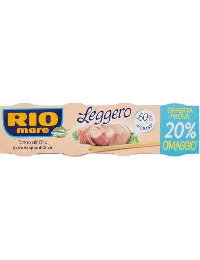 RIO MARE TONNO LEGGERO 4X60 GR CON OLIO EVO GR 240
