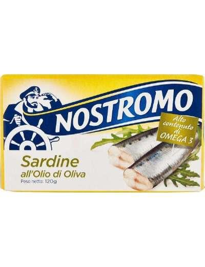NOSTROMO SARDINE OLIO D'OLIVA GR 120