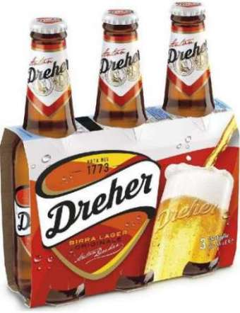 DREHER BIRRA 3X33 CL