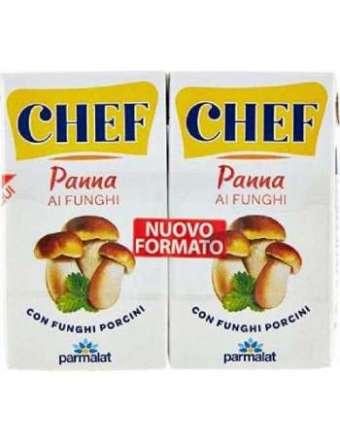 CHEF PANNA AI FUNGHI 2X125 ML PARMALAT BRIK