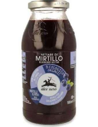 ALCE NERO SUCCO MIRTILLO BIO VETRO CL 50