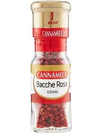 CANNAMELA BACCHE ROSA GR 18