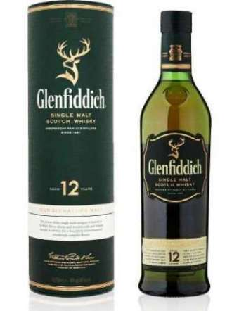 WHISKY GLENFIDDICH 12 YO 70 CL