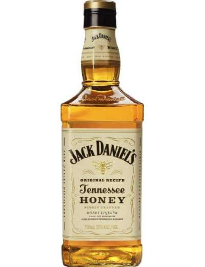 JACK DANIEL'S TENNESSEE HONEY WHISKEY 70 CL