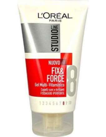 L'OREAL FIX&FORCE IPERFORTE GEL ML 150