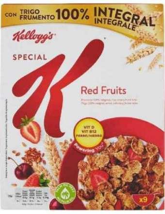 SPECIAL K CEREALI FRUTTI RED KELLOGG GR 290