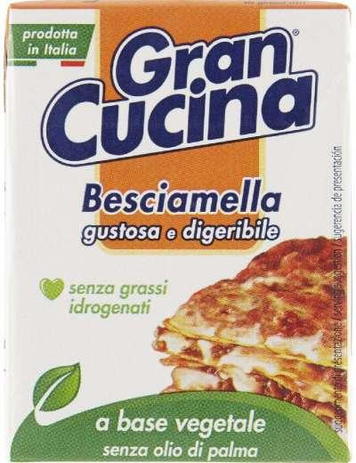 GRAN CUCINA BESCIAMELLA VEGETALE BRIK GR 200