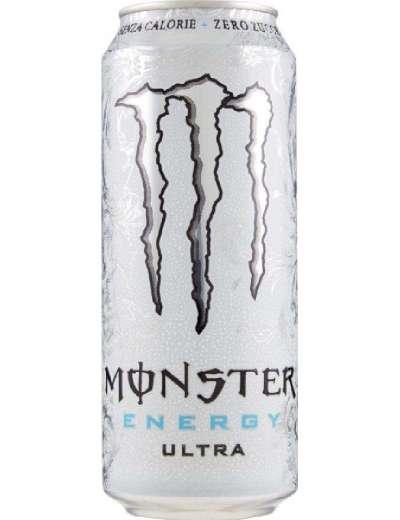 MONSTER ULTRA WHITE ENERGY DRINK LATTINA CL 50
