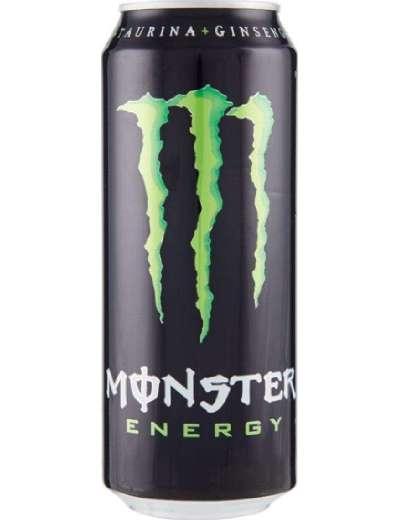 MONSTER GREEN CLASSICA ENERGY DRINK LATTINA 50 CL