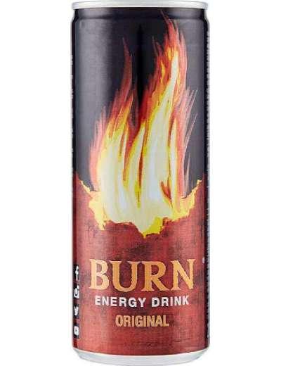 BURN ENERGY DRINK CLASSICA LATTINA 25 CL