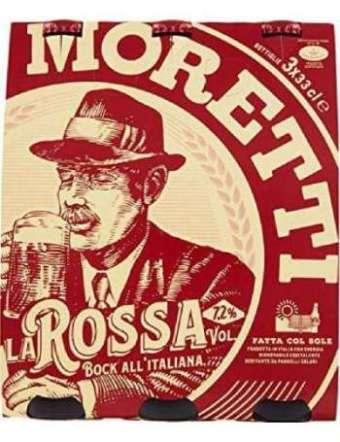 MORETTI BIRRA ROSSA 3X33 CL