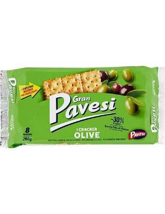 PAVESI CRACKERS OLIVE GRAN PAVESI GR 280