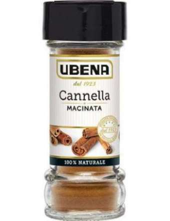 UBENA CANNELLA MACINATA VETRO GR 25
