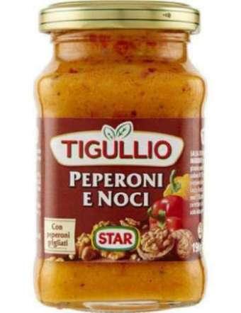 STAR PESTO TIGULLIO PEPERONI E NOCI VETRO GR 190