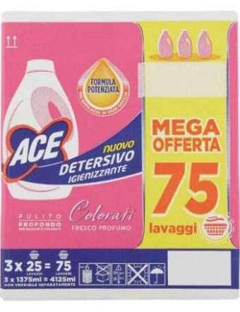 ACE LAVAGGIO COLORE 25 LAVAGGI PZ 3