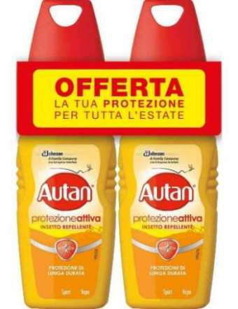 AUTAN ACTIVE VAPO PROMO 2X100 ML