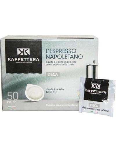 KAFFETTERA CIALDA BOX DECAFFEINATO PZ 50