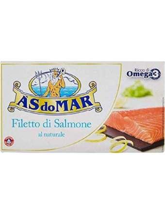 ASDOMAR SALMONE A FILETTI NATURALE GR 150