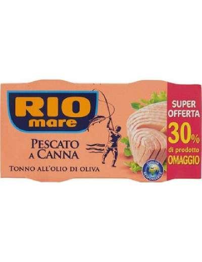 RIO MARE TONNO PESCATO A CANNA OLIO D'OLIVA 2X160 GR 320