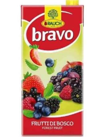 BRAVO SUCCO FRUTTI DI BOSCO BRIK LT 2